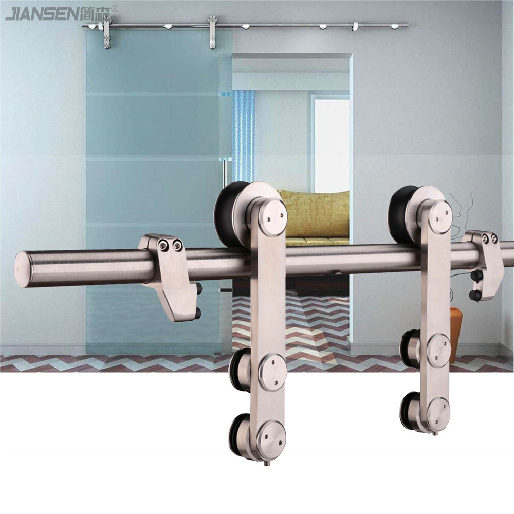 stainless steel sliding glass door hardware manufacturer-hm3005